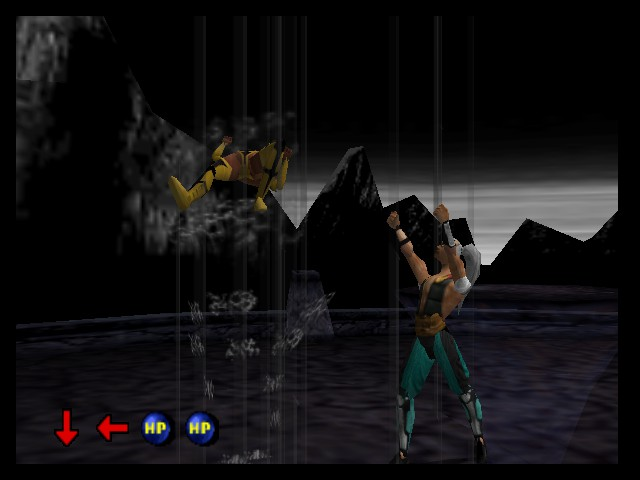 Mortal Kombat 4 - Tornado attack! - User Screenshot